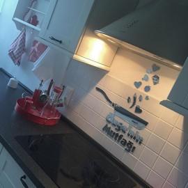 İsimli Mutfak Aynası
