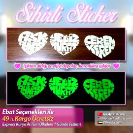 Sihirli Aşk Sticker
