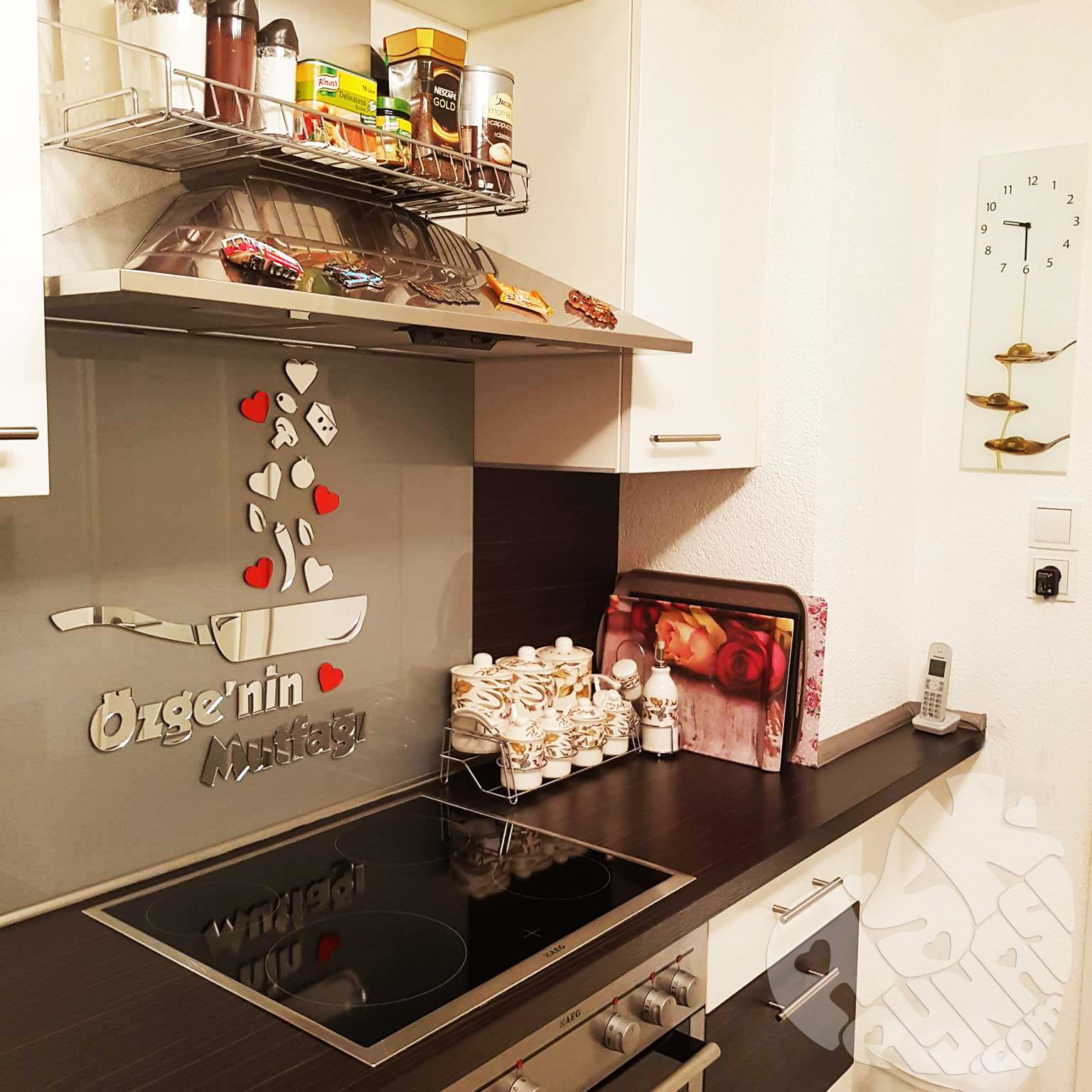 mutfak pleksi süs ile ilgili görsel sonucu